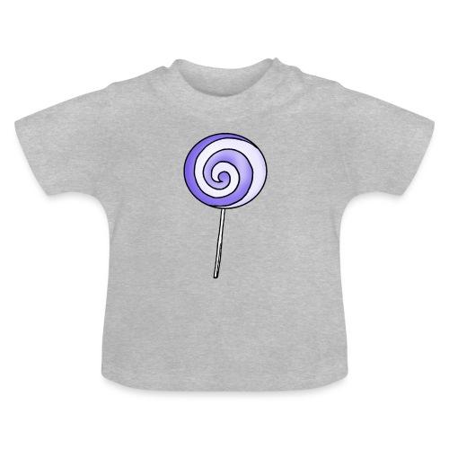 geringelter Lollipop - Baby T-Shirt