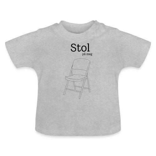 Stol på meg - Baby-T-skjorte
