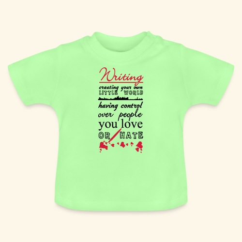 Writing - Baby T-Shirt