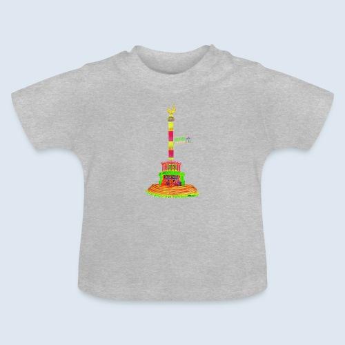 Siegessäule Berlin PopArt ickeshop BachBilder - Baby T-Shirt