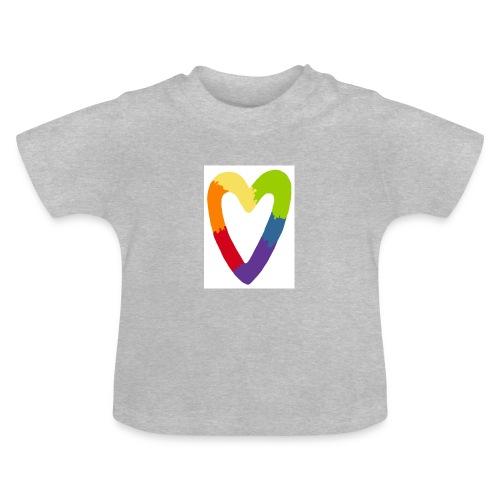 Sydän - Vauvan t-paita