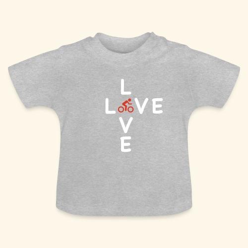 Fahrrad, Rennrad, Race-Bike - Baby T-Shirt
