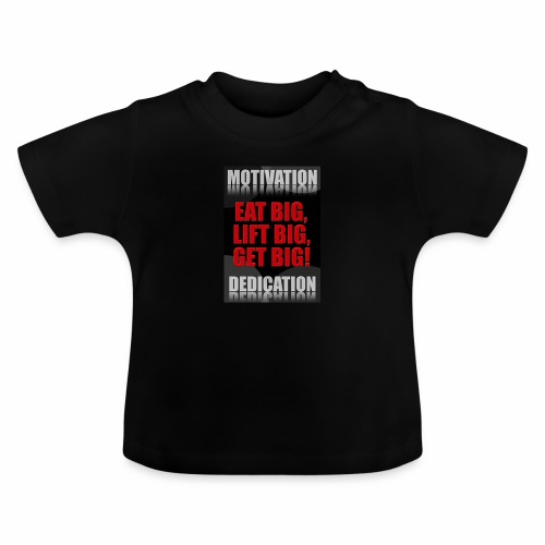Motivation gym - Baby-T-shirt