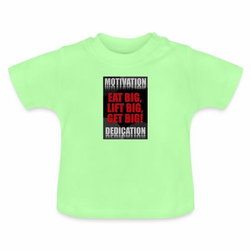 Motivation gym - Baby-T-shirt