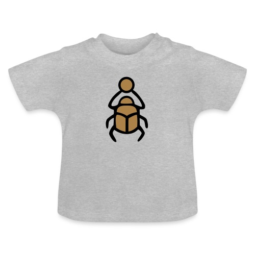 Skarabäus Ägyptisches Schutz Symbol Amulett - Baby T-Shirt