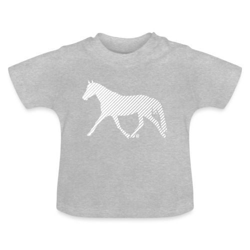 Streifen Pferd - Baby T-Shirt