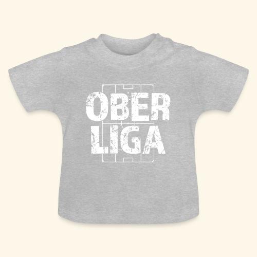 OBERLIGA im Fußballfeld - Baby T-Shirt