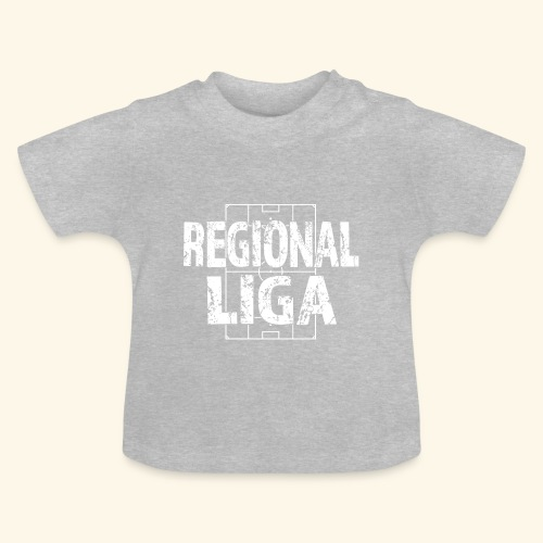 REGIONALLIGA im Fußballfeld - Baby T-Shirt
