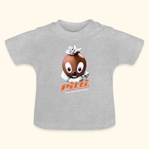 Pittiplatsch 3D Ach, du meine Nase auf dunkel - Baby T-Shirt