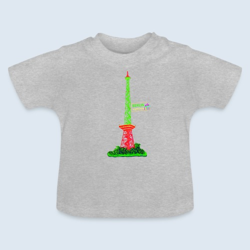 Funkturm Berlin PopArt ickeshop BachBilder - Baby T-Shirt