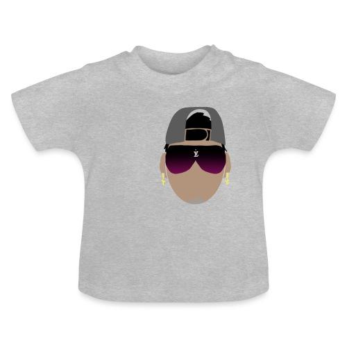 Logo de adhex marca youtube - Camiseta bebé
