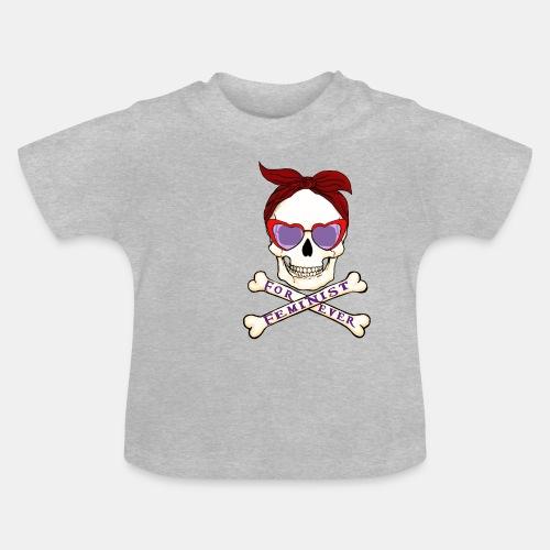 Calavera Feminista - Camiseta bebé