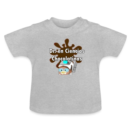 Doc. en Ciencias Chocolatinas - Camiseta bebé