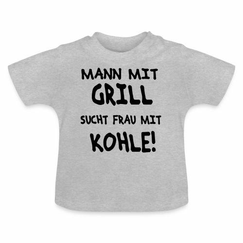 Mann mit Grill - Baby T-Shirt