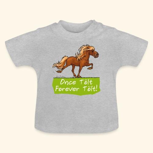 Icelandic horse tölt - T-shirt Bébé
