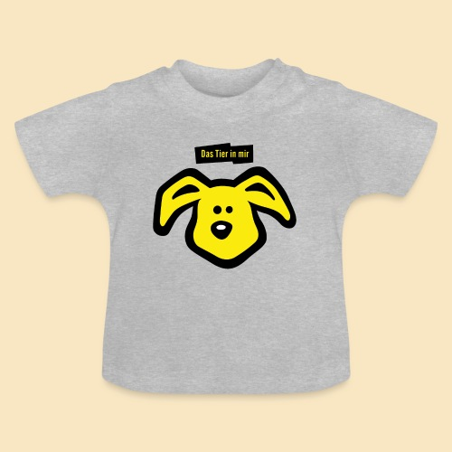 Tier in mir – Hase - Baby T-Shirt