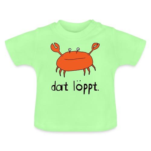 Ostfriesland FUN Shirt - Dat Löppt Strandkrabbe - Baby T-Shirt