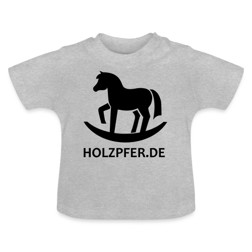 Holzpferde - Baby T-Shirt