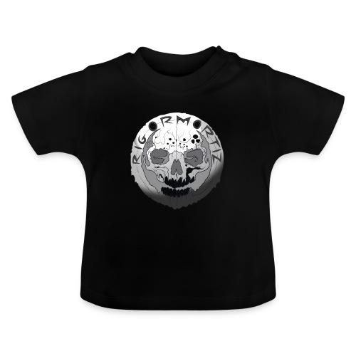 Rigormortiz Black and White Design - Baby T-Shirt