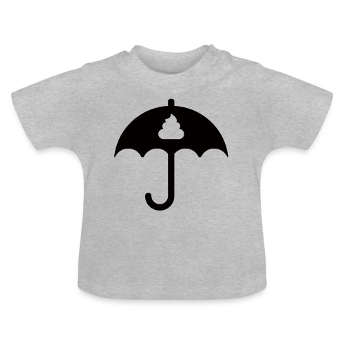 Shit icon Black png - Baby T-Shirt