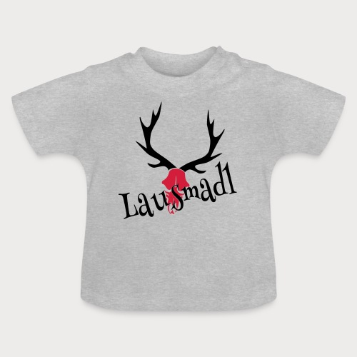lausmadl hirsch - Baby T-Shirt