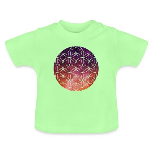FlowerOfLife Warm - Baby T-shirt
