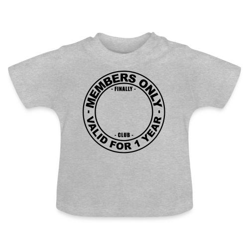 Finally XX club (template) - Baby T-Shirt