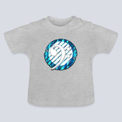 BassClef blue/white - Baby T-Shirt