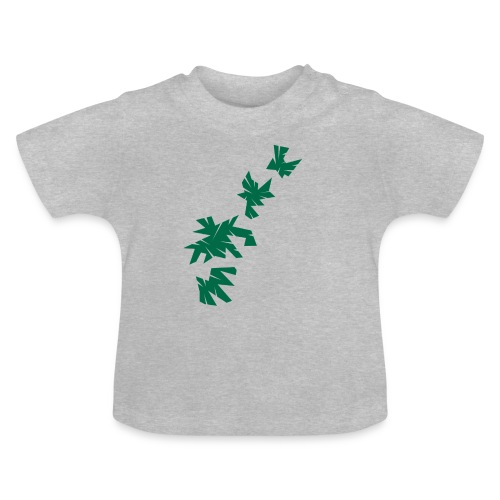 Green Leaves - Baby T-Shirt