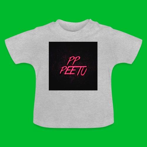 Ppppeetu logo - Vauvan t-paita