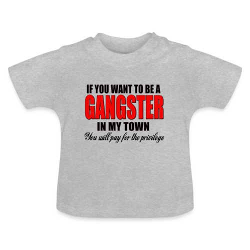 ville gangster - T-shirt Bébé