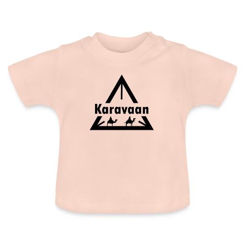 Karavaan Black (High Res) - Baby T-shirt