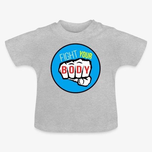 logo fyb bleu ciel - T-shirt Bébé