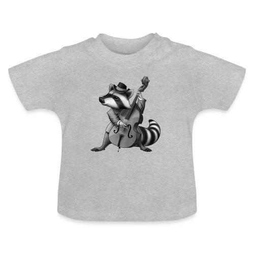 Racoon Musician - Baby T-Shirt
