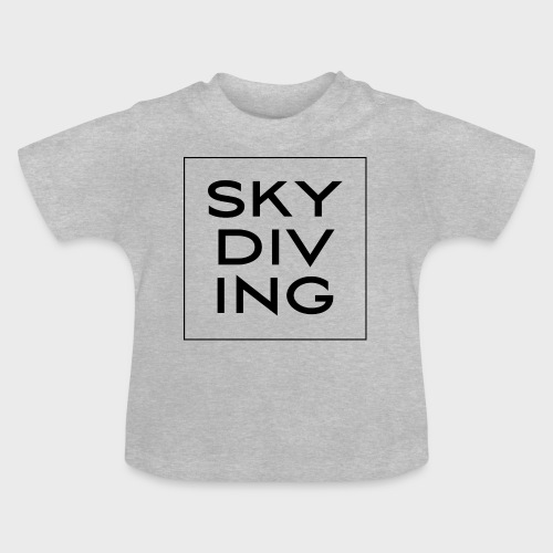 SKY DIV ING Black - Baby T-Shirt