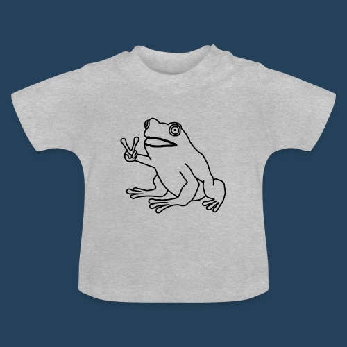 Frog Peace! by Cuerno - Baby T-Shirt