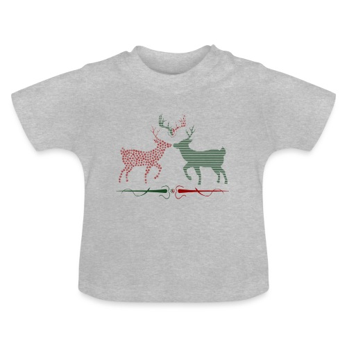 Christmas deer - Baby T-Shirt
