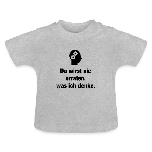 Der Denker - Baby T-Shirt