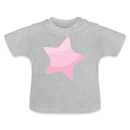 Star pink - Camiseta bebé