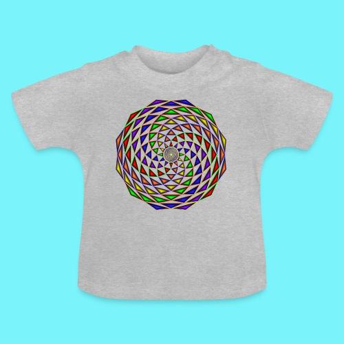 Mandala in rainbow colours - Baby T-Shirt