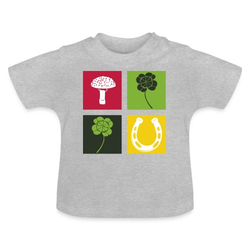 Just my luck Glück - Baby T-Shirt