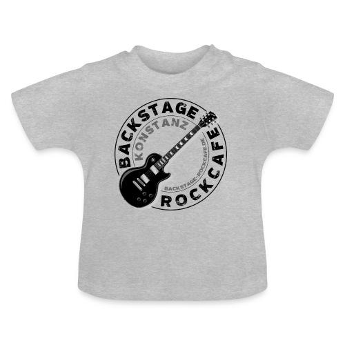 Backstage Logo einfach Schwarz - Baby T-Shirt
