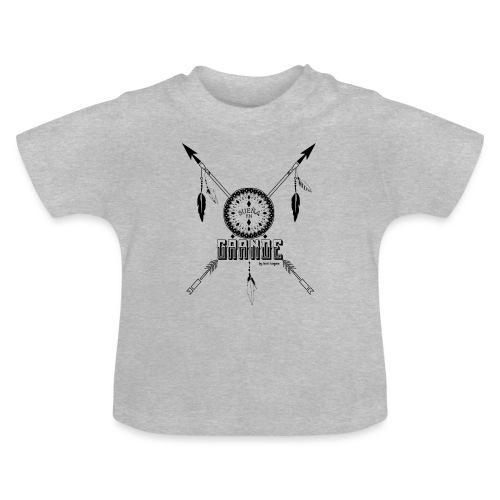 SUEN A EN GRANDE negro - Camiseta bebé