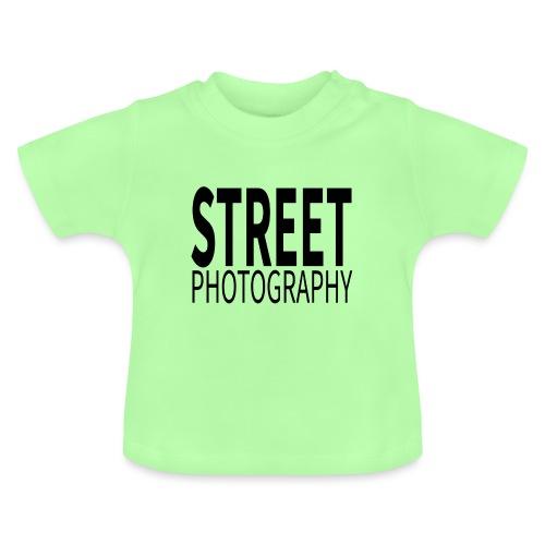Street photography Black - Maglietta per neonato