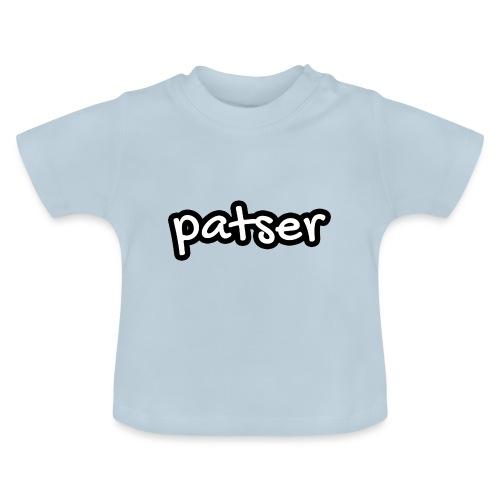 Patser - Basic White - Baby T-shirt