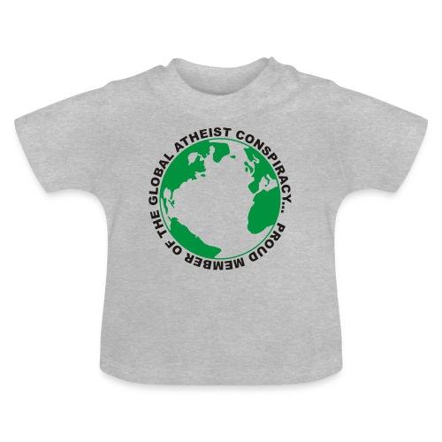 Global Atheist Conspiracy - Baby T-Shirt
