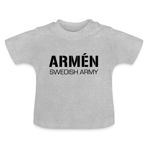 ARMÉN -Swedish Army - Baby-T-shirt