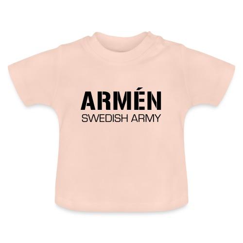 ARMÉN -Swedish Army - Baby-T-shirt