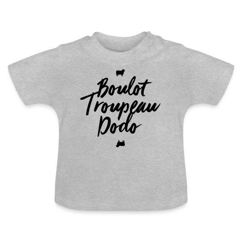 Boulot Troupeau Dodo - T-shirt Bébé