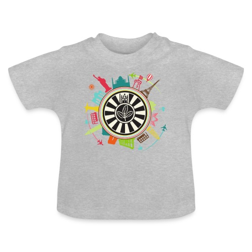 RT around the world - Baby T-Shirt